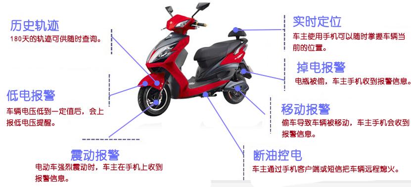 电动车GPS定位监控解决方案